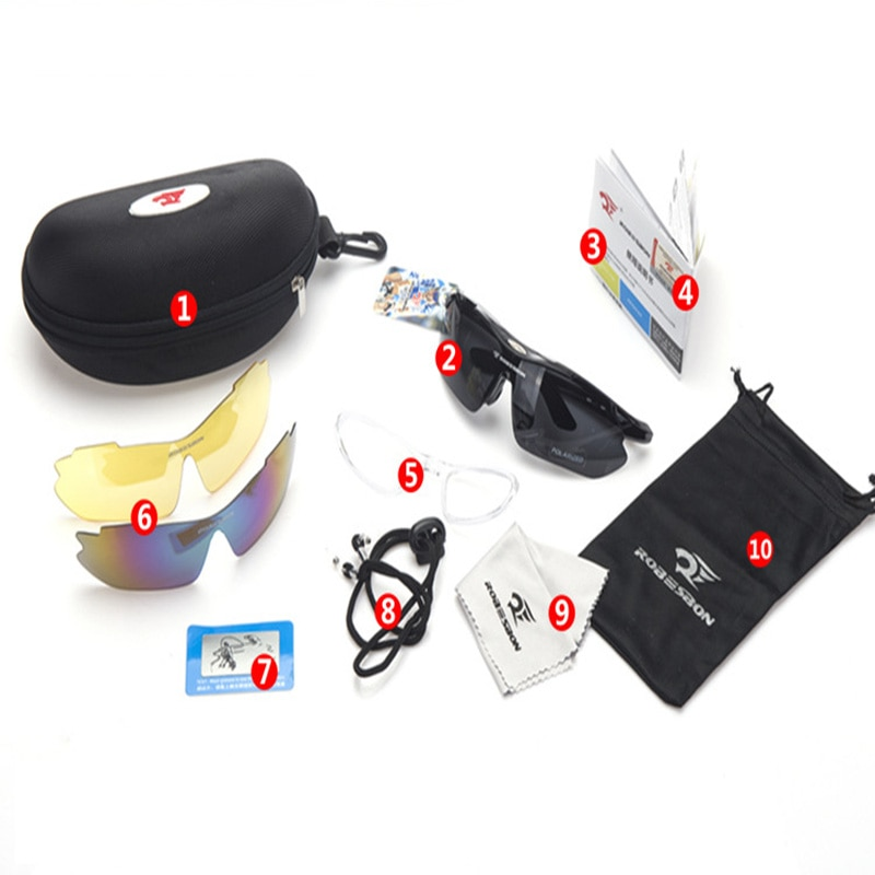 3 Lens Polarized Cycling Goggles Eyewears Uv400 Photochromic Mountain Bicycle Glasses Running Mtb Fishing Sunglasses Men