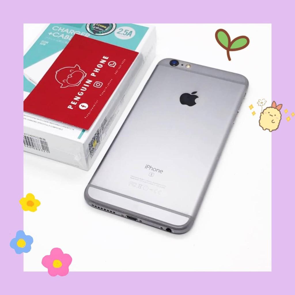 i Phone 6splus 16GB สี Space Gray มือสอง สภาพ 95% [โทรศัพท์มือสอง มือสอง]