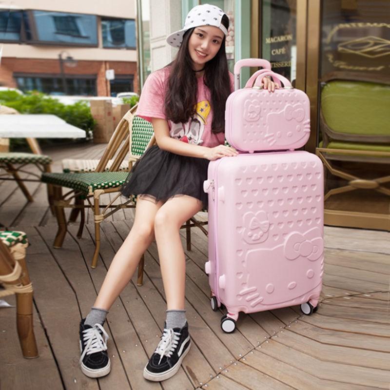 กระเป๋าเดินทางกระเป๋าหนังขนาด 24 นิ้ว