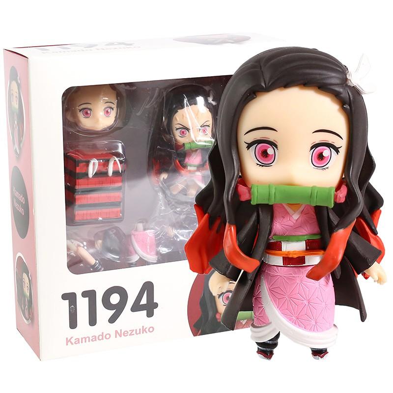Action-Figure Collectible Demon Slayer Kimetsu Kamado Nezuko No-Yaiba Model-Toy PVC 1194