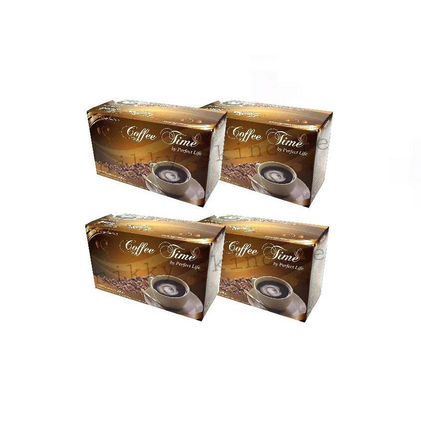 applewatch series 6♤✐Perfect Life/กาแฟคอฟฟี่ไทม์ Coffee Time ชุด 4 กล่อง+4ซอง (พร้อมส่ง) ล็อตใหม่