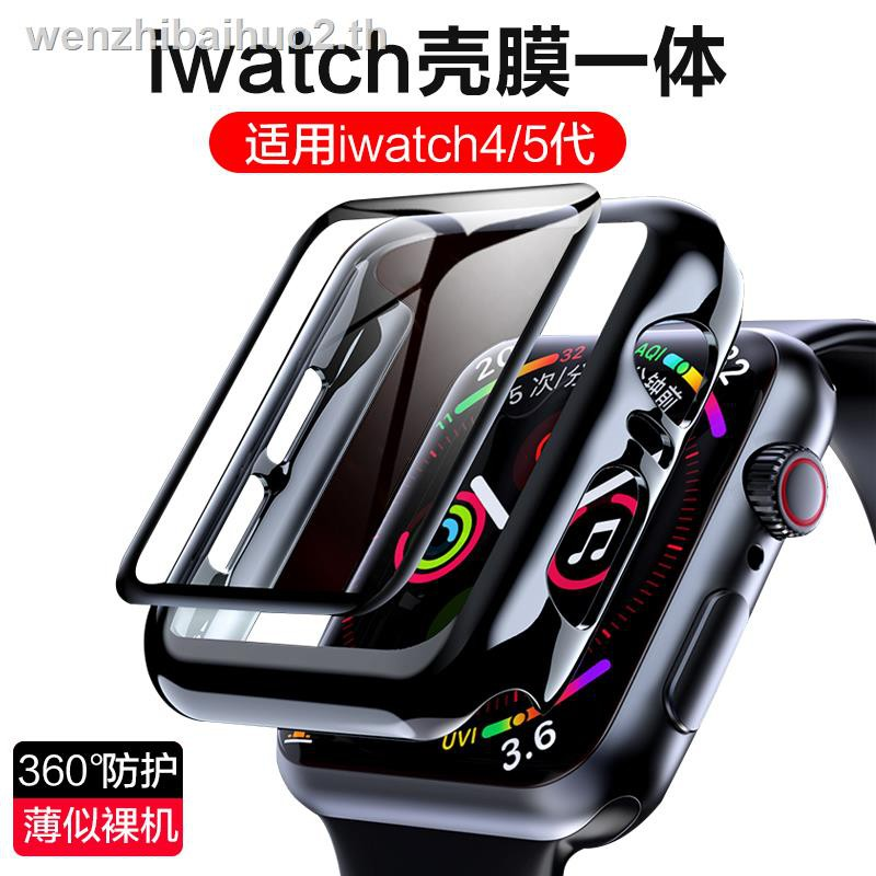 ฟิล์มป้องกัน IN STOCK^^✙biaze is suitable for iwatch protective case 6th generation Apple watch se whole body applewatch5 s5/s4 screen iwatch3 tempered film 42/44mm all-inclusive shell integrated set