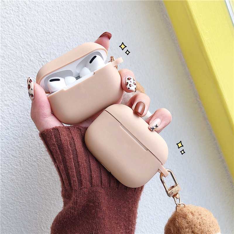Cute AirPods 3 Case Corgi Airpods 1/2 Case Silicone AirPods Pro Case with Key Chain Pendant
