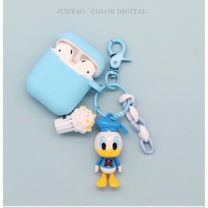 พร้อมส่ง!!เคสแอร์พอดยางซิลิโคน Cute duckling Apple Airpod1/2 Airpods pro soft case mamamila