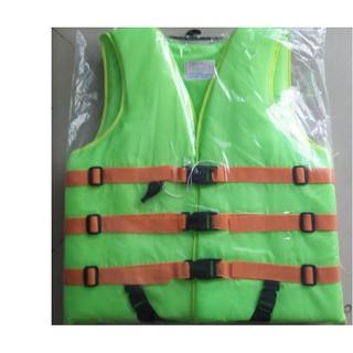 เสื้อชูชีพ ดำน้ำ ว่ายน้ำผู้ใหญ่ พร้อมนกหวีด เบอร์ 6