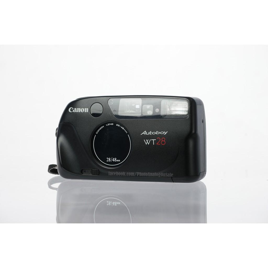 กล้องฟิล์ม คอมแพค Point and Shoot Canon Autoboy WT28 No.1735794 เลนส์ 2 ระยะ สวย แฟลชไม่ติด