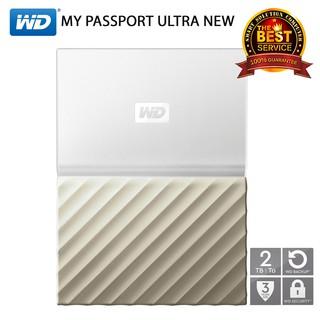 WD My Passport Ultra New 2TB (WDBFKT0020BGD) USB 3 0 Size 2 5
