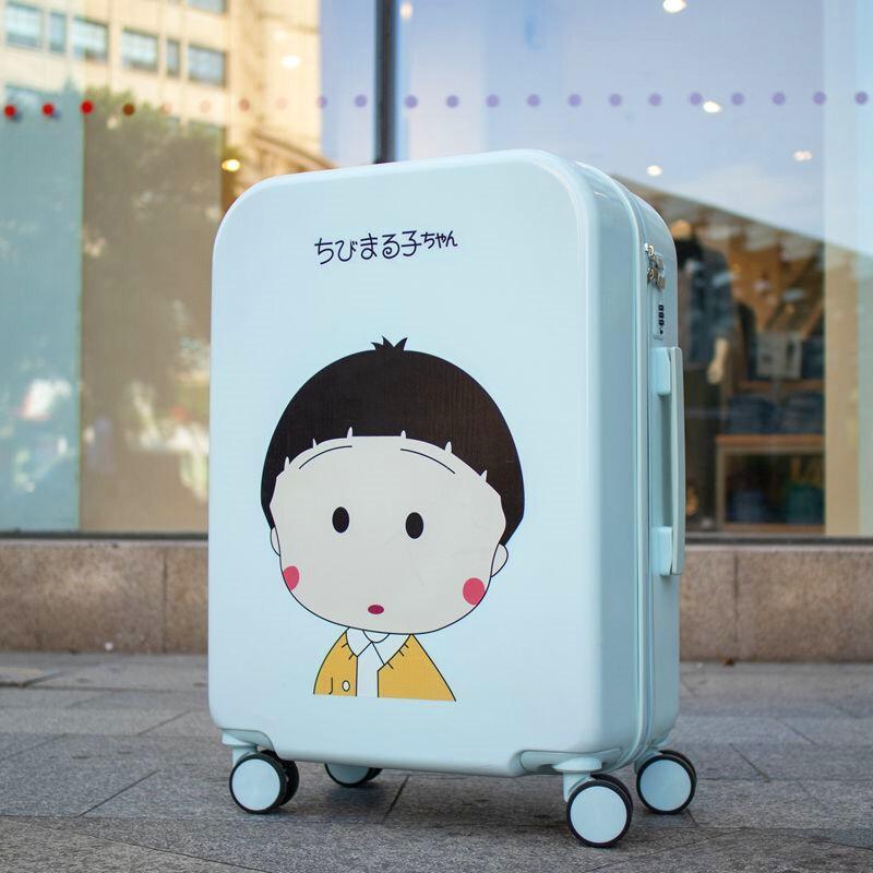 ของแท้ดิสนีย์(Disney)กระเป๋าเดินทางใบเล็กน่ารักญี่ปุ่น26ตัวล็อครหัสผ่านน้ำหนักเบาน้ำหนักเบาทนทาน31นิ้วสาวหนา34นิ้ว