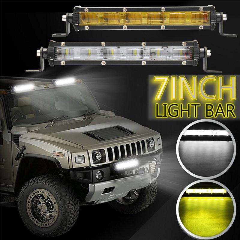 30W LED Work Light Bar Driving Fog Spot Beam Lamp Offroad Car Truck Boat SUV 4WD