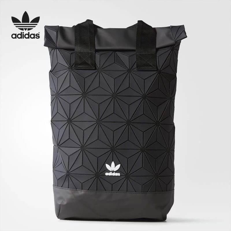 Adidas Originals BP Roll Top 3D Mesh 2017 Black Backpack Bag DH0100