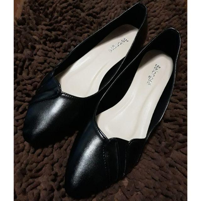 รองเท้าคัชชูหนัง (สีดำ)
