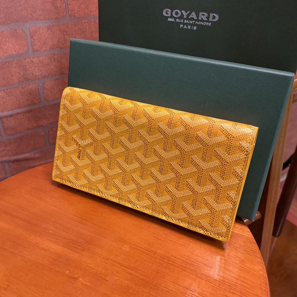 Goyard wallet คลัทช์กระเป๋าบัตรกระเป๋าสตางค์ หนังแท้แบรนด์เนน