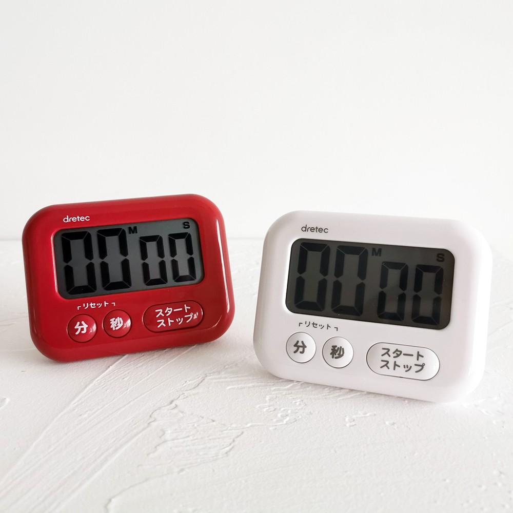 นาฬิกาจับเวลาขนาดเล็กสไตล์ญี่ปุ่น Dretec