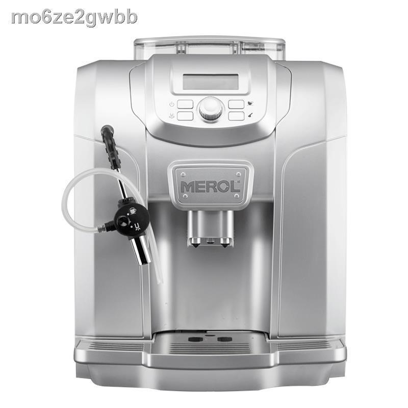 เครื่องชงกาแฟย้อนยุค▧✎Merol/Mei Nong me-715 เครื่องชงกาแฟ home เครื่องทำฟองนมอัตโนมัติในเชิงพาณิชย์ เครื่องทำฟองนมอัตโนม