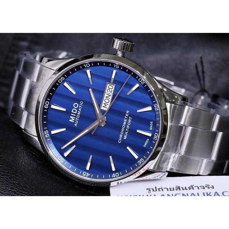 นาฬิกา Mido Multifort Chronometer Automatic รุ่น M038.431.11.041.00