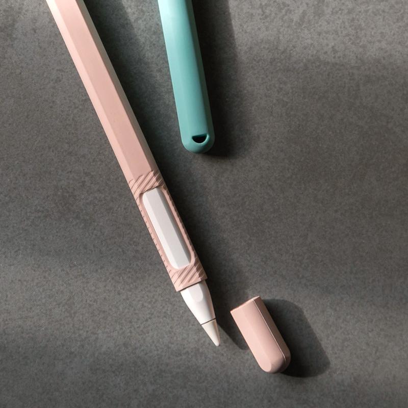 เคส ipad gen7แอปเปิลapple pencilเคสipadปากกาซิลิก้าเจลipencilหมวกป้องกันการสูญหาย2รุ่นที่สองiphoneชุดปลายปากกาproอุปกรณ์