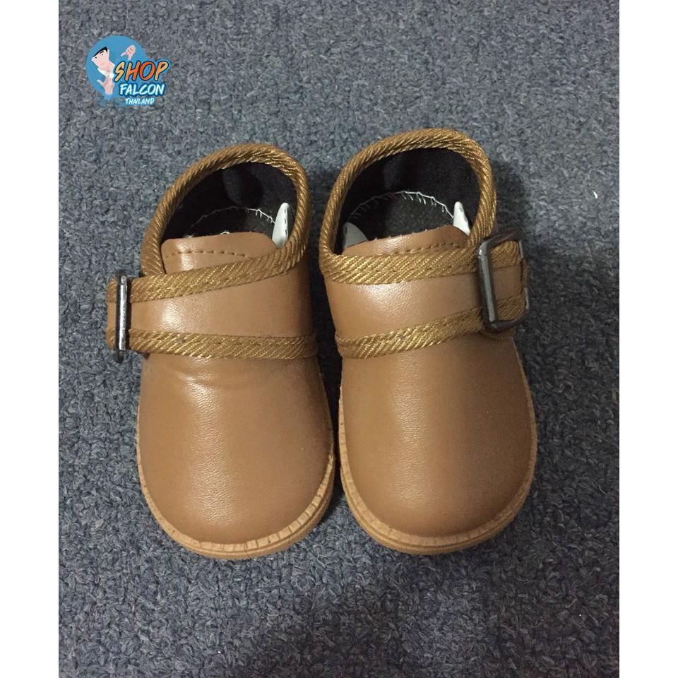 รองเท้าเด็กชายคัชชู  เบา ใส่สบาย สีดำ, สีน้ำตาล ใส่แล้วหล่อเท่ทุกมุม