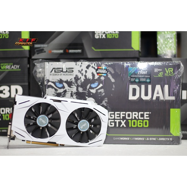 ASUS DUAL GTX1060 O6G Boxหมดประกัน