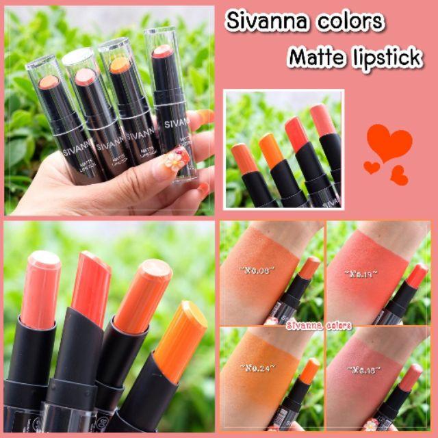 Matte Lipstick Sivanna Sivanna Colors Colors