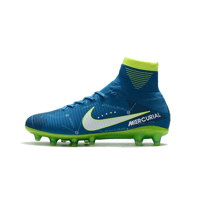 0636d4facb Fast Power Nike Mercurial Superfly V CR7 FG รองเท้าฟุตบอล รองเท้าสตั๊ดหุ้มข้อ  ยี่ห้อ Soccer Shoes