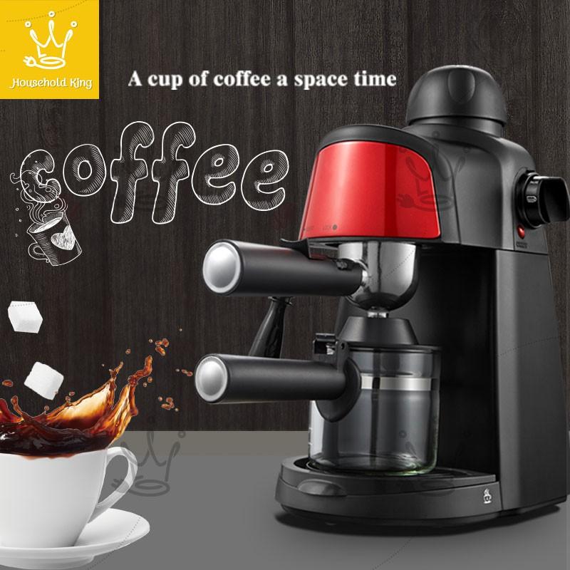 เครื่องชงกาแฟ เครื่องชงกาแฟสด เครื่องทำกาแฟ เครื่องเตรียมกาแฟ อเนกประสงค์ เครื่องชงกาแฟอัตโนมัติ กำลังไฟ 80W ความจุถ