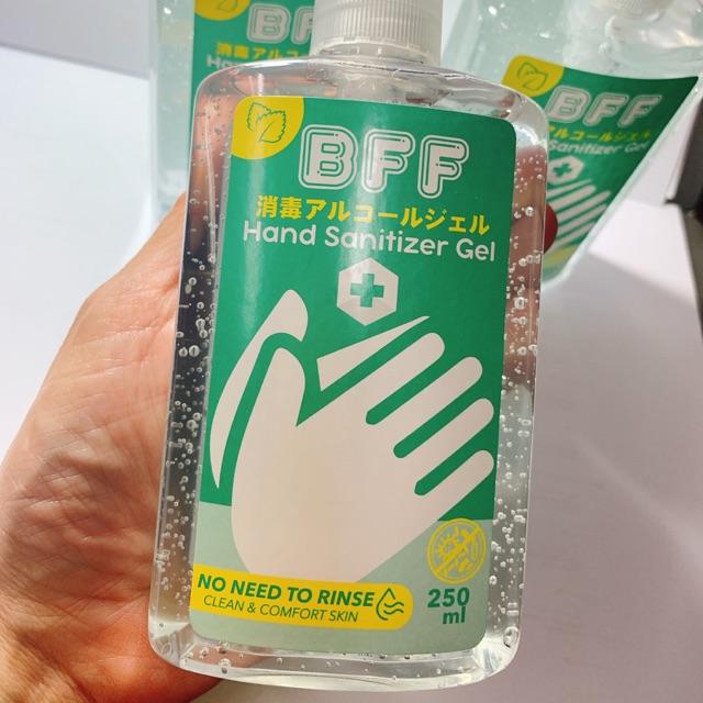 เจลล้างมือ คุณภาพดี แบรนด์BFF 59 บาท
