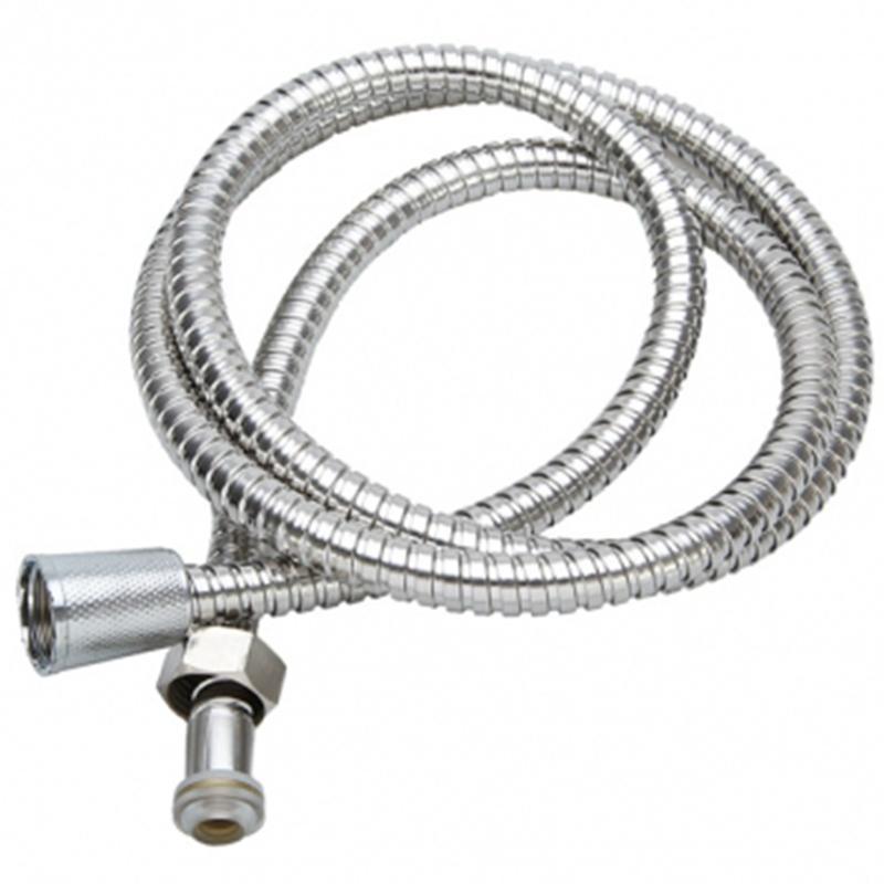 Stainless Steel Shower Hose Flexible Handheld Shower Head Hose for Bathroom 80cm