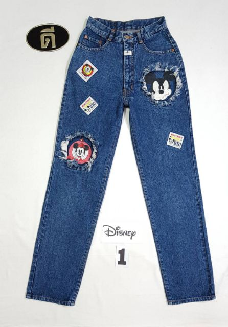 Image # 1 of Review 1.MICKY  MOM JEANS  เอววัดจริง  24-25