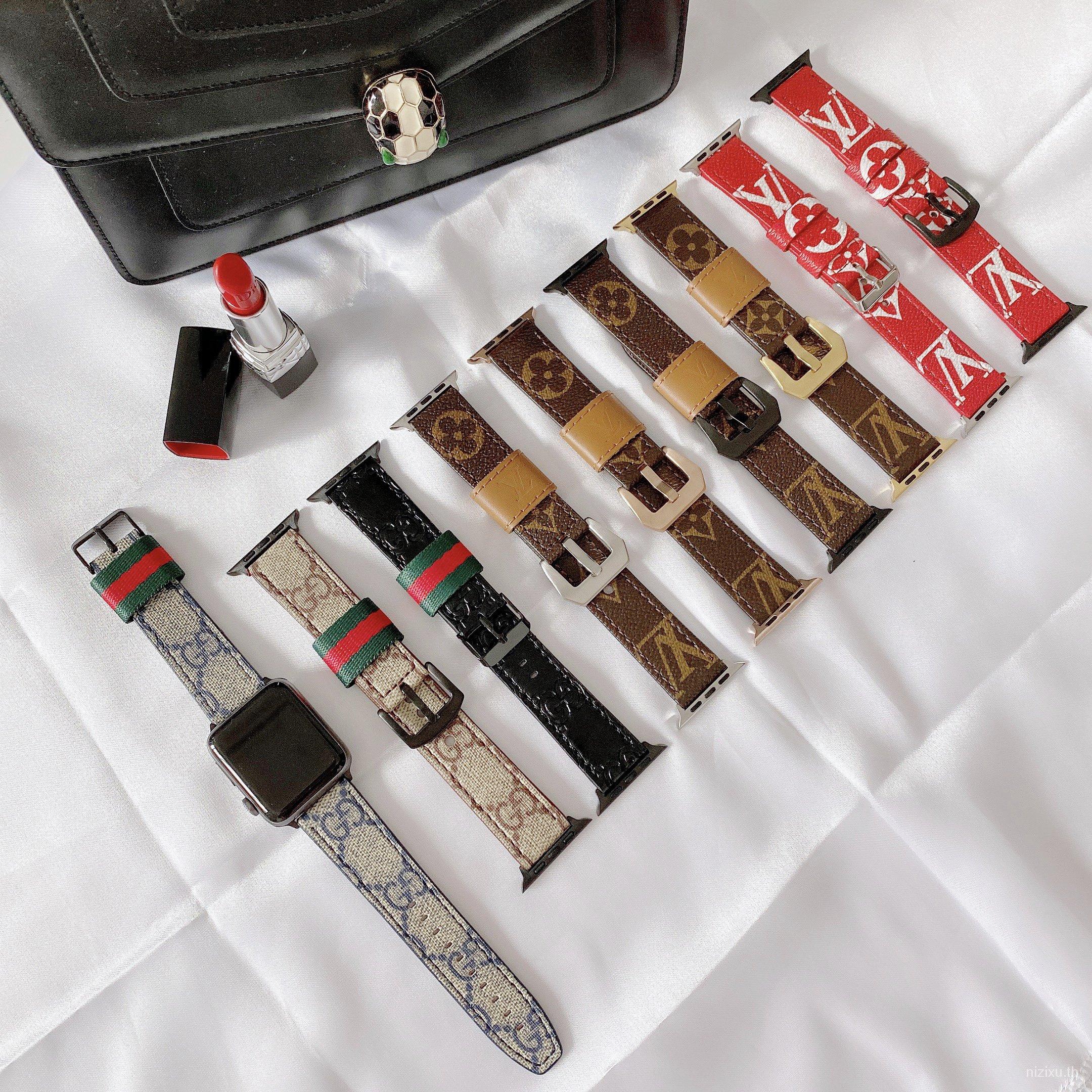 สายนาฬิกาข้อมือ Applewatch Series 6 สําหรับ Iwatch5 / 4 / 3 / 2 / 1 38-44 มม . Gl5P