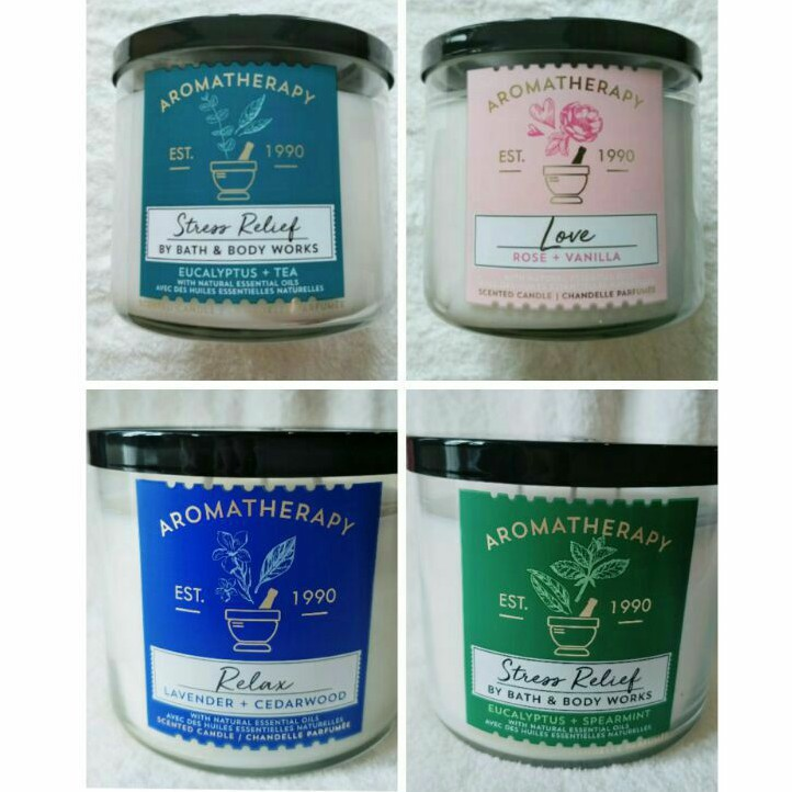 📣✅💯✣Candle 3-Wick Aromatherapy bath and body work
