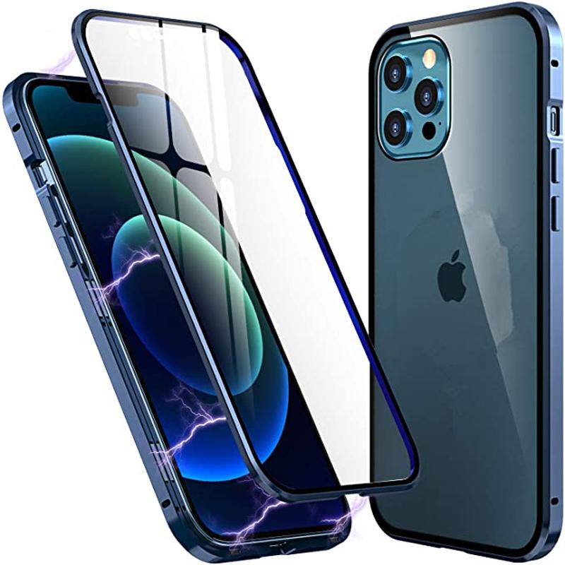 เคสโทรศัพท์มือถือแบบสองด้านสําหรับ Iphone 11 12 Pro Max Xs Xr Xs Max 12