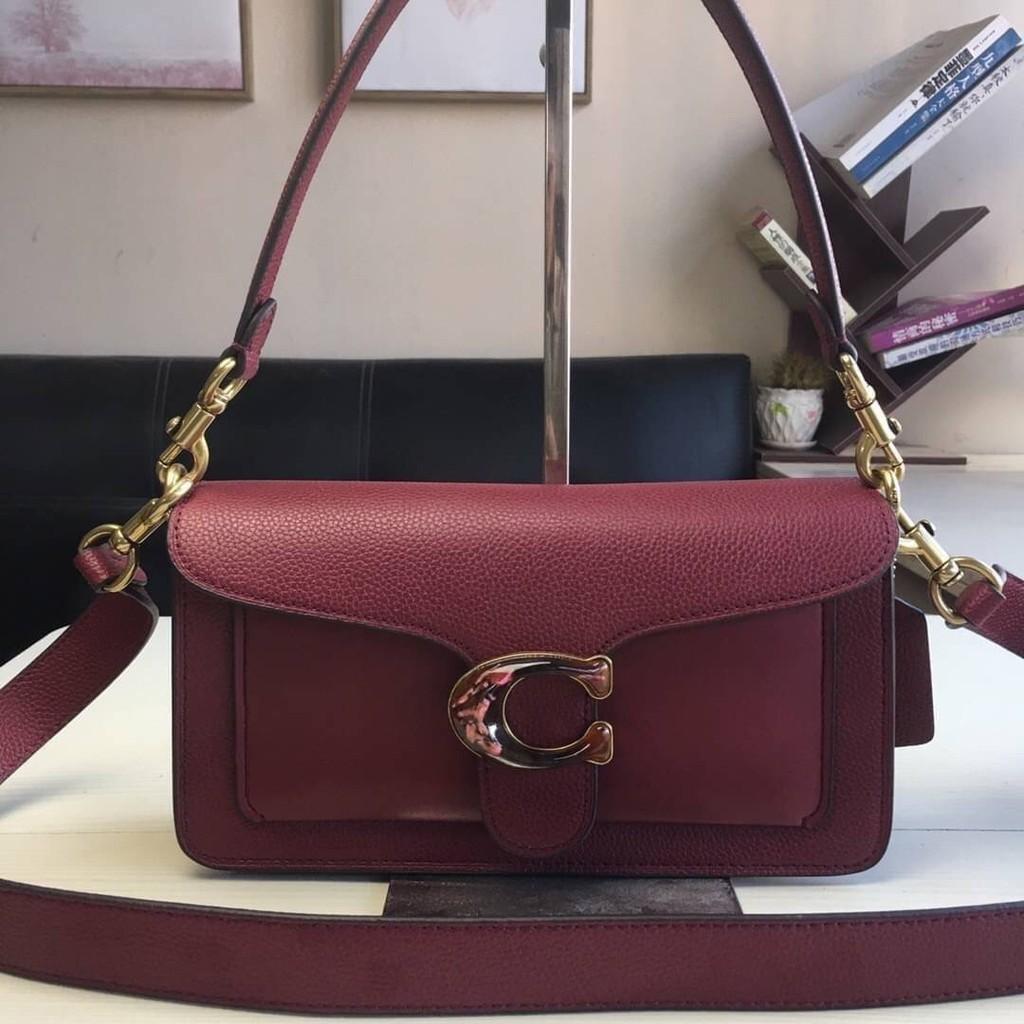 ✨กระเป๋าสะพายข้าง Coach แท้💯 (พร้อมส่ง) ส่งฟรี Coach tabby convenience shoulder bag crossbody