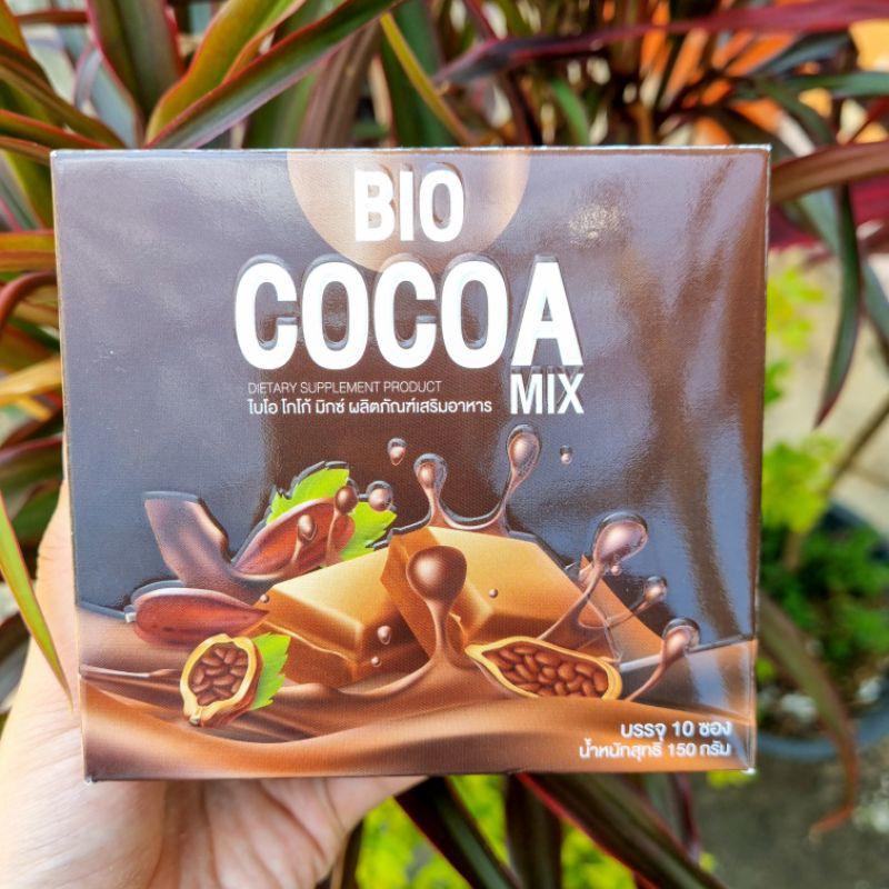 ไบโอ โกโก้มิกซ์ ดีท็อก [ แบ่งขายเป็นซอง ] Bio Cocoa mix