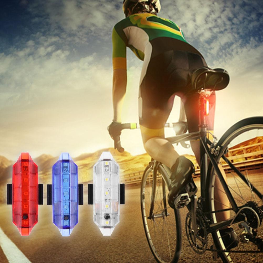 6000LM T6 LED 5V Cycling Front USB Bike Lamp Bicycle Light Headlamp 4 Colors