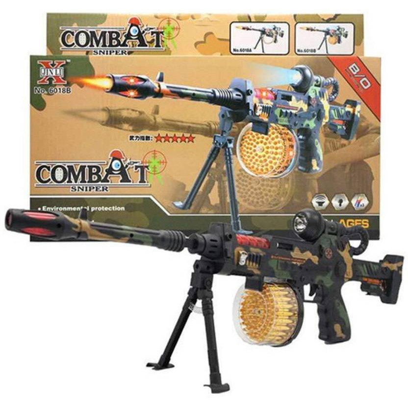ปืนของเล่นใส่ถ่าน Combat Sniper No 6018B