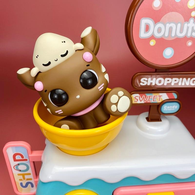 Blind Box 7 Style Anime Figure Model Toys Adorable Shoing Sweet Series Kawaii Surrise Random VC Garage Kit Doll 6cs/Set