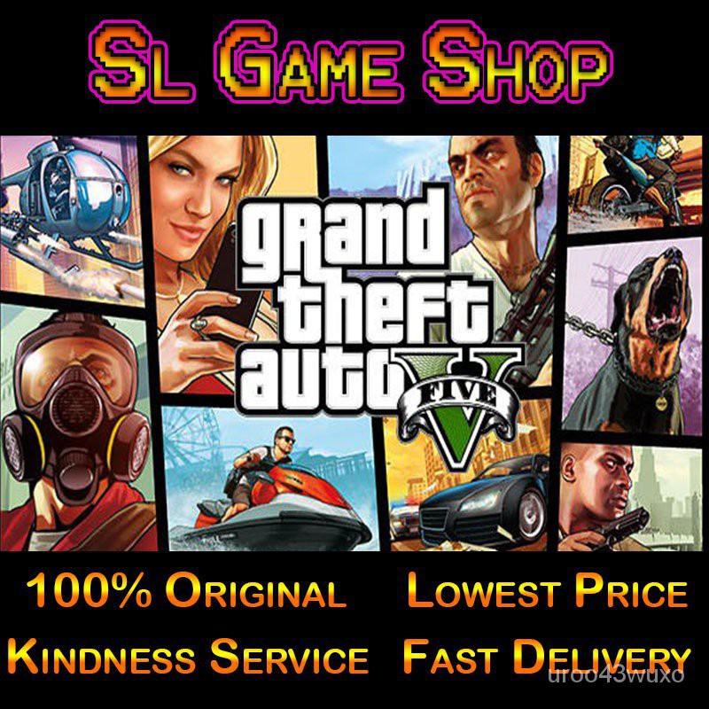 [Buy Now Get Now] GTA 5 GTA V Grand Theft Auto V Online (PC Steam Original Game)