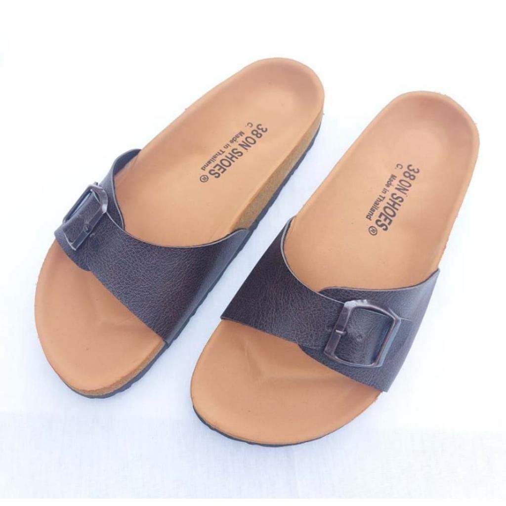 รองเท้าไบเก้น 1 step สไตล์ BikenStock เท้าอวบ อ้วน ใส่ได้ มีสายปรับขนาด