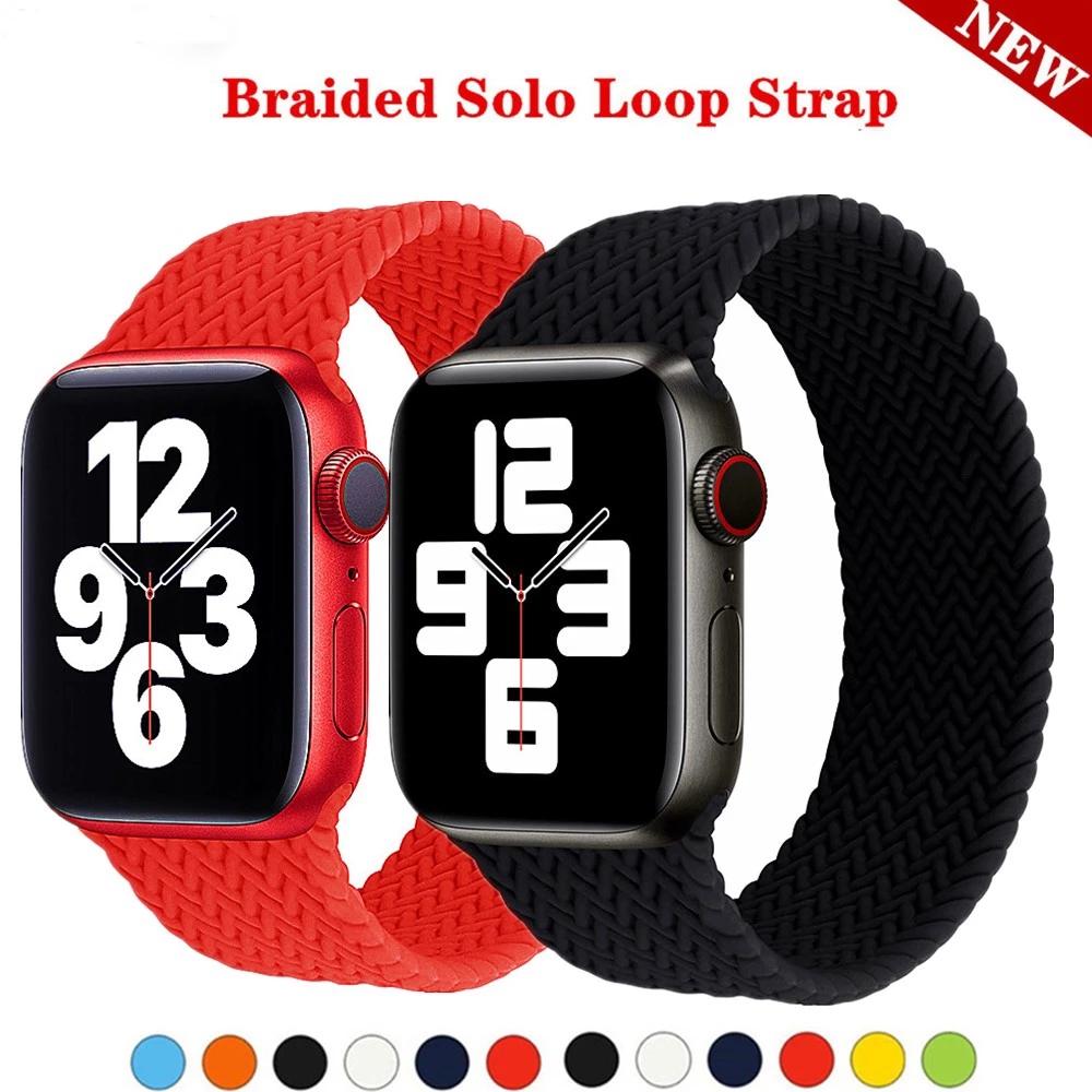 สายนาฬิกาข้อมือซิลิโคนสําหรับ Apple Watch Band 44 มม . 40 มม . 38 มม . 42 มม . Iwatch Apple Watch Series 6 Se 5 4 3