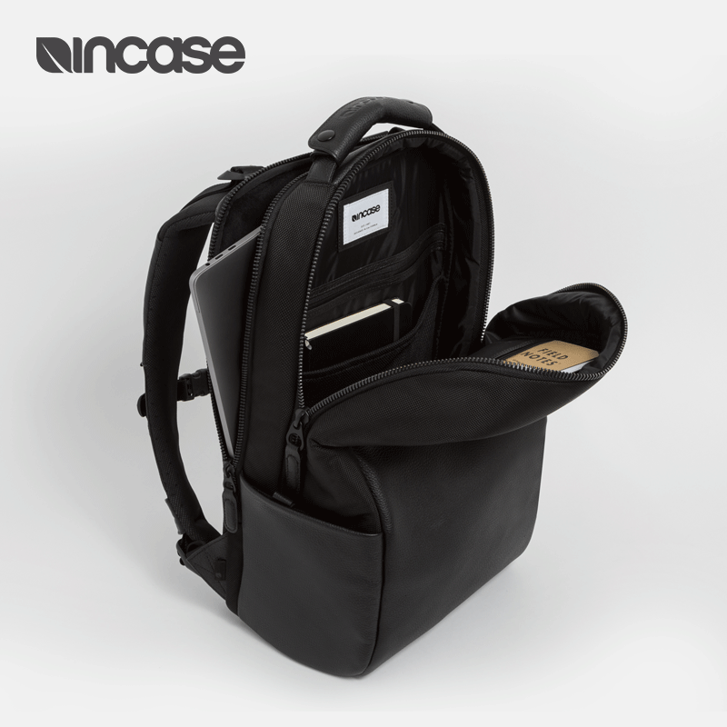 チヵกระเป๋าเป้คอมพิวเตอร์กระเป๋าแล็ปท็อปหนังIncase Jet backpack15นิ้วถุงแล็ปท็อปApple MacBook Proเดินทางกระเป๋าเป้สะพายหลั