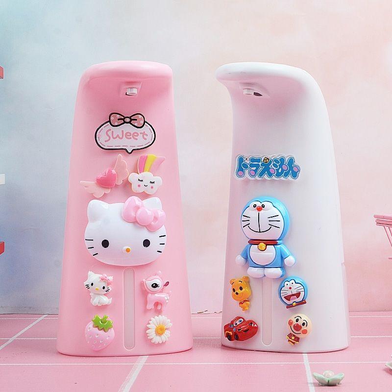 【การจัดส่งพร้อมท์】 เจลล้างมือแบบเหนี่ยวนำ การ์ตูนน่ารักเด็กอัตโนมัติโฟมเหนี่ยวนำซักผ้าโทรศัพท์มือถือสมาร์ทโฟมเจลทำความสะ