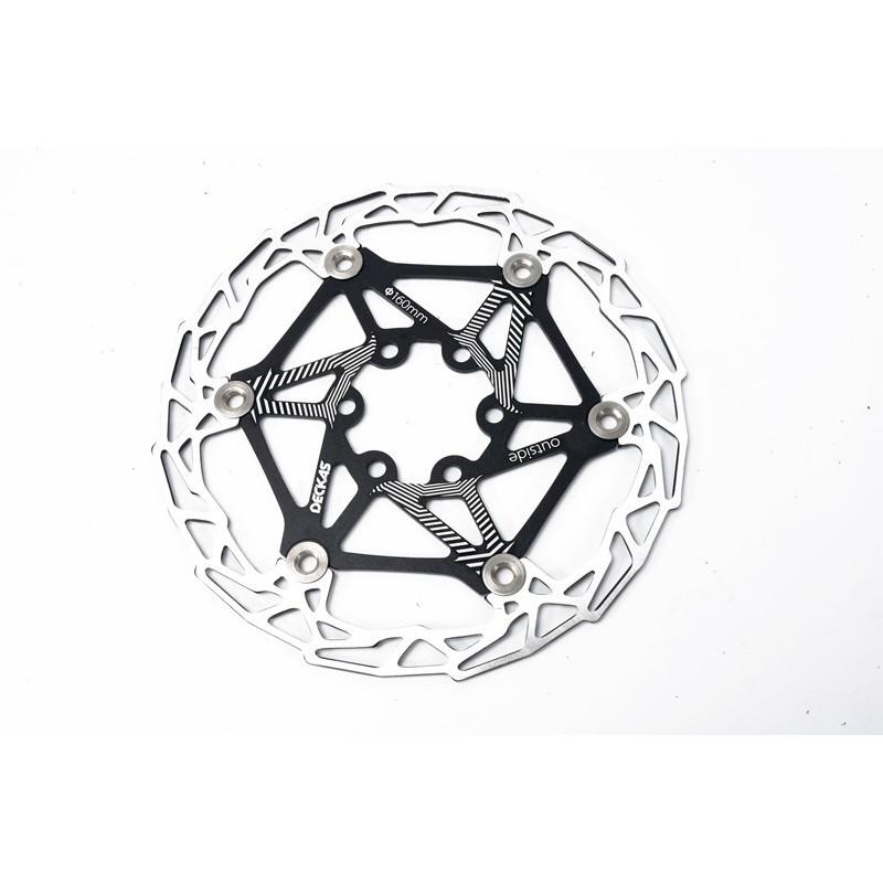 "DECKAS MTB Mountain bike Bicycle Brake Disc Floating Rotor 160mm 6/"" Rotors 82g"