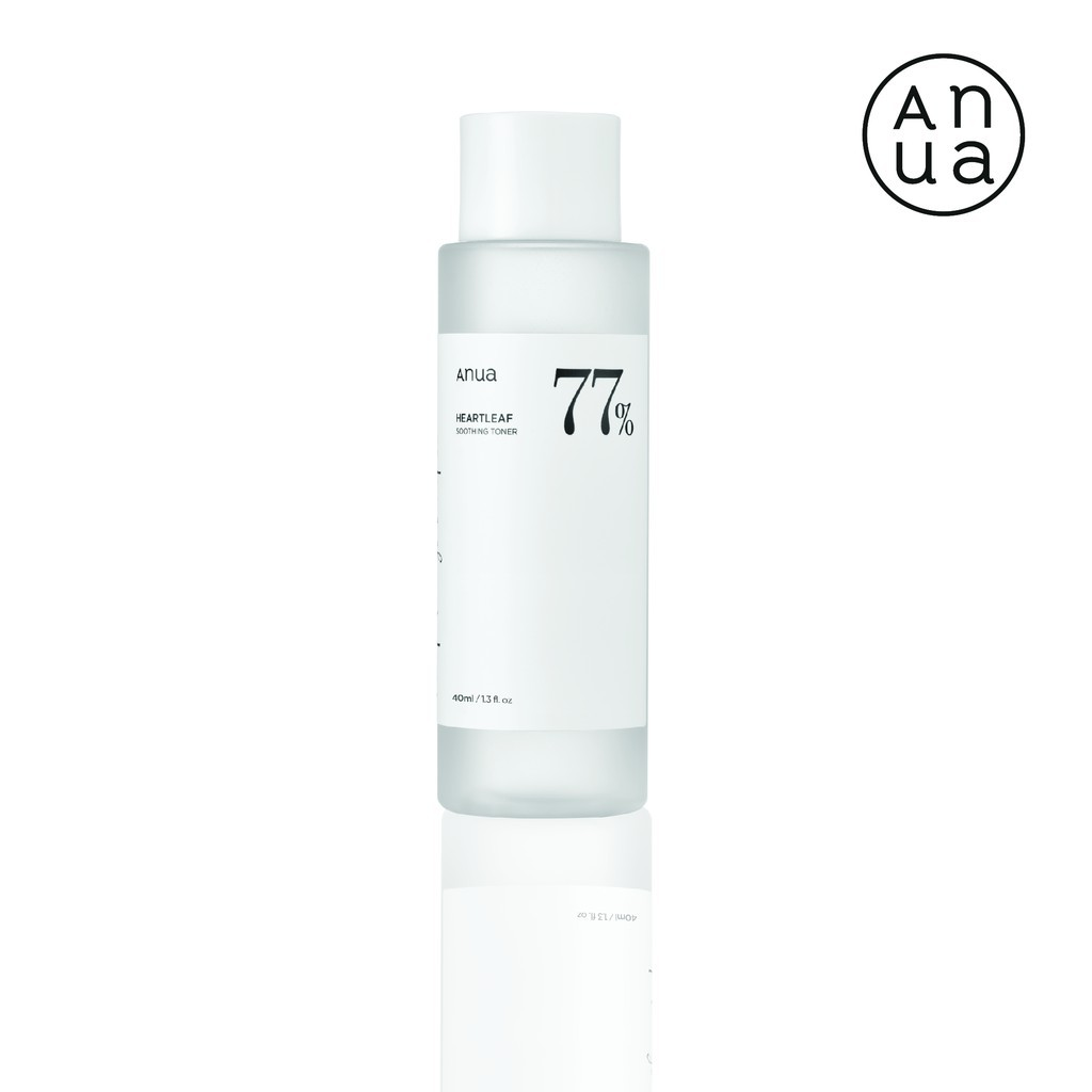 ❂☋ANUA : HEARTLEAF 77% SOOTHING TONER 40 ml