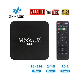 MXQ Pro 4k Android 10.1 TV Box RK3229 2G16G 4G32G HD 3D 2.4G WiFi Google Play Youtube Media Player Set Top Box