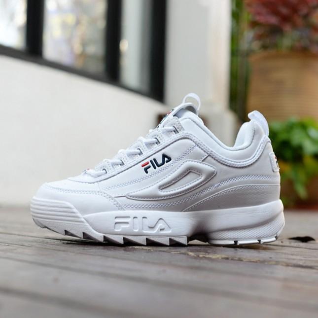รองเท้า FILA Blades รองเท้าสตรีรองเท้า Disruptor 2 รองเท้าวิ่งฟันเลื่อยขนาดใหญ่