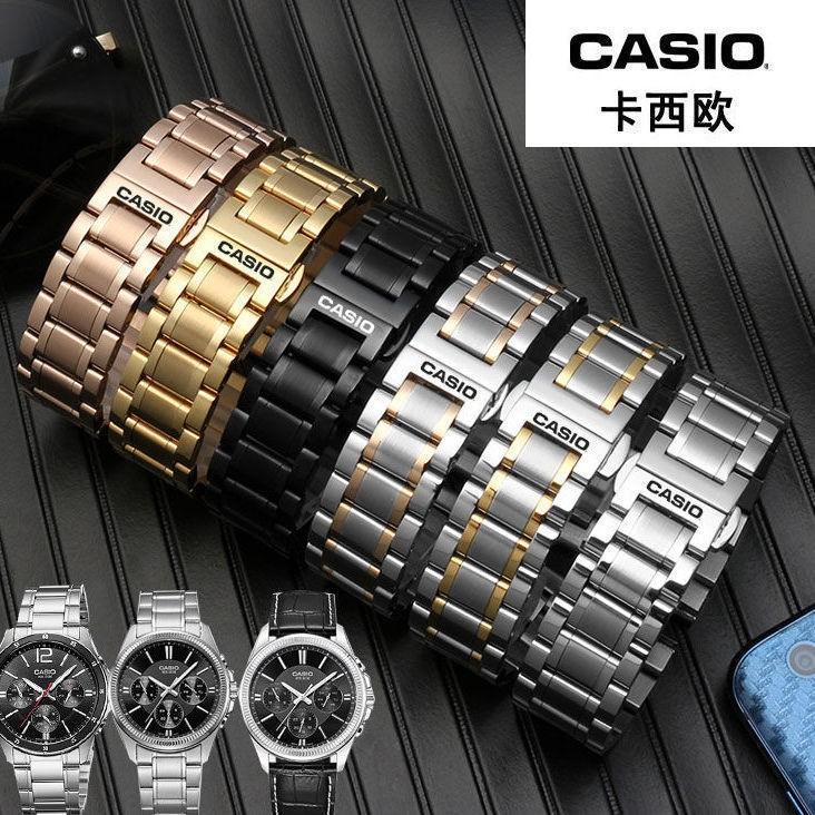 Casio สายนาฬิกาข้อมือสแตนเลส Bem501 506 507
