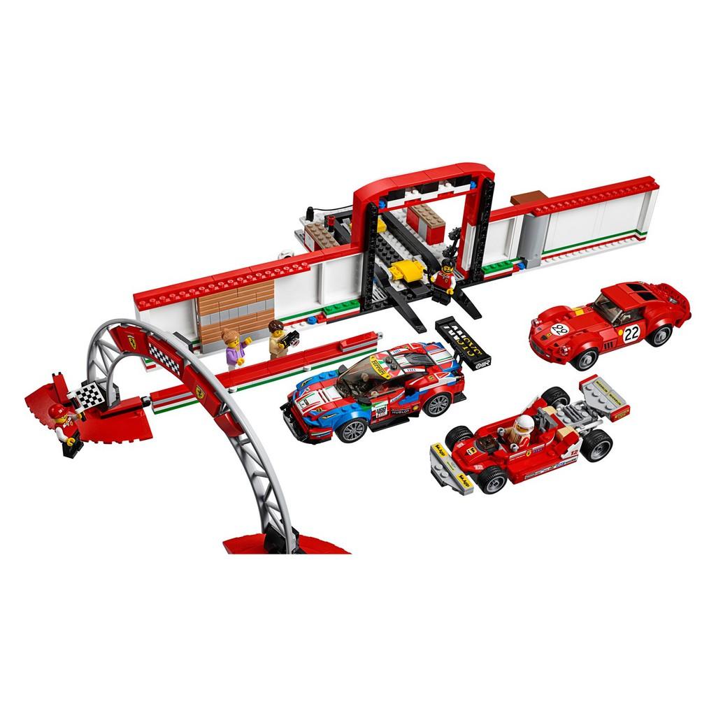 75889 LEGO Speed Champions Ferrari Ultimate Car Garage Set 841 Pieces Age 8+