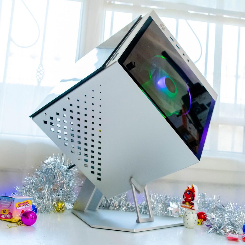 มีโค้ด500+ผ่อน0% AZZA CUBE Mini 805 ITX Tower Tempered Glass ARGB