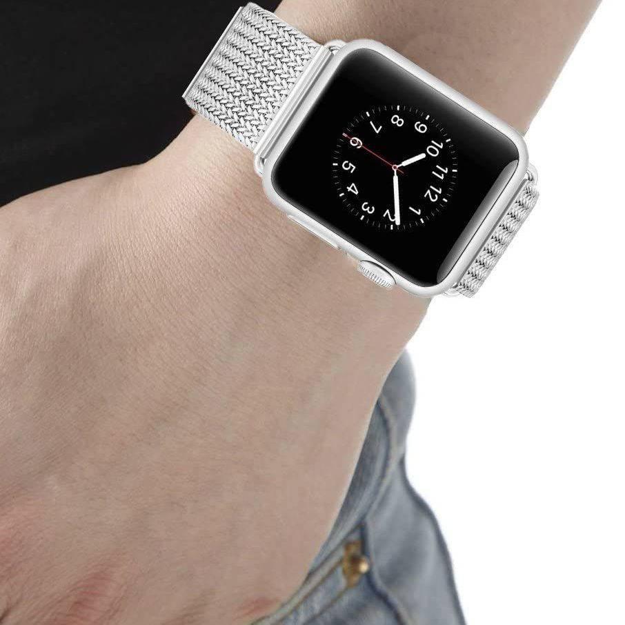 💥 สาย applewatch 🔥 สาย Applewatch ที่ใช้งานได้ iwatch4 / 3/2/1 รุ่นสาย Apple มิลานสแตนเลสสตีล 38/42/44