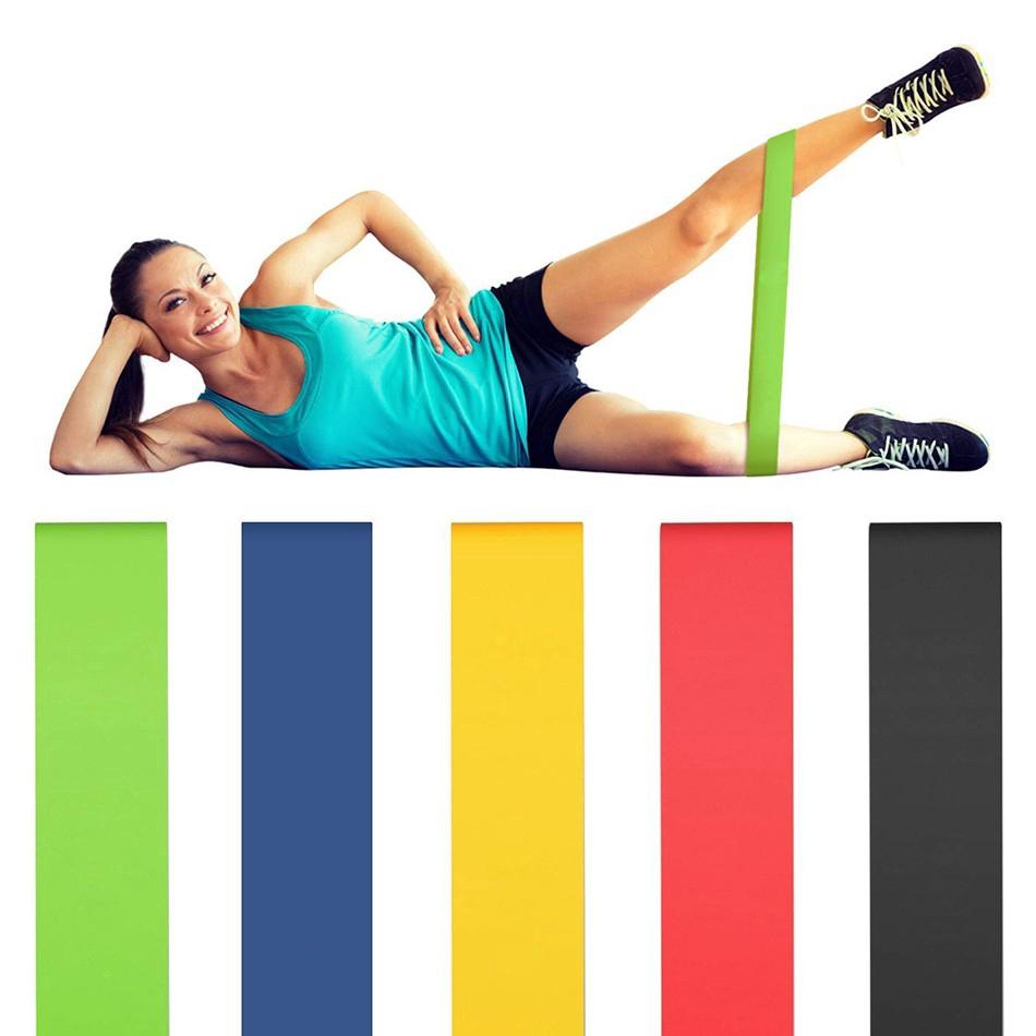 ยิมออกกำลังกายวงต้านทานสำหรับโยคะยืดดึงขึ้นช่วยวงยางการออกกำลังกายการฝึกอบรมการออกกำลังกายอุปกรณ์